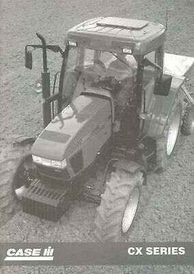 1998 Case Ih Cx-Series Specification Brochure