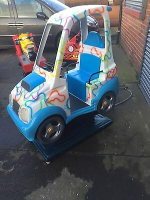 Whittakers Sports Car Childrens Kiddie Ride Machine Coin Operated - Kids - Kiddy