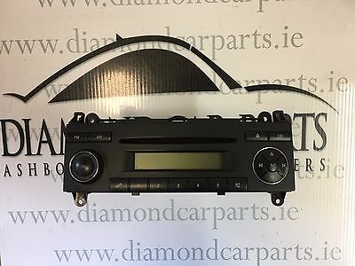 2006 Vw Crafter Radio Cd Player Be 7078