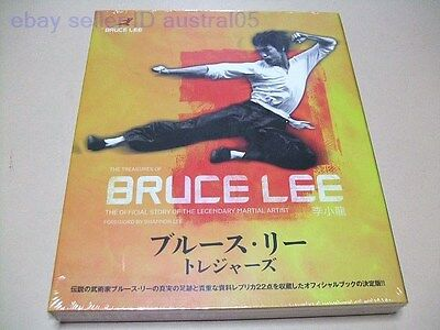Treasures of Bruce Lee The Official Stroy of The Legendary Martial Artist Japan