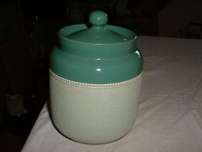 Lovely Antique Pottery Tobacco Jar