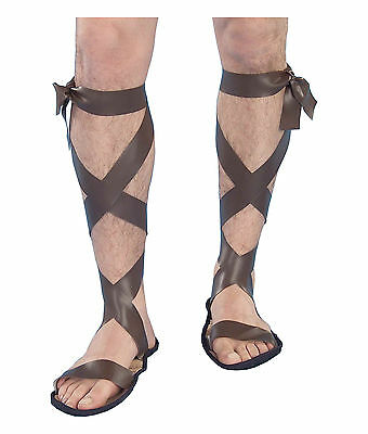 Gladiator Roman Greek Hercules Spartan Men Costume Sandals