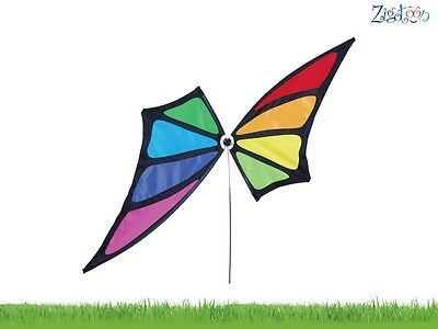 Eolienne Ailes de papillon Butterfly wings Wind Spinner Schmetterlingsflügel