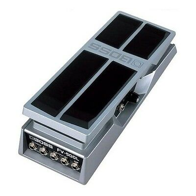 Boss FV-500L Volume Pedal (Stereo, Low Impedance) (B stock)