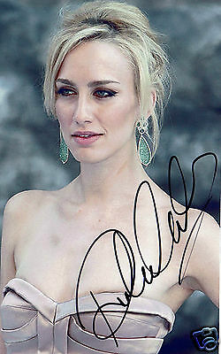 Ruta Gedmintas British Actress The Strain  Hand Signed Photograph 7 x 5