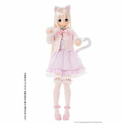 AZONE SAHRA'S meow x meow a' la mode White Cat SAHRA Nornal Ver. Doll