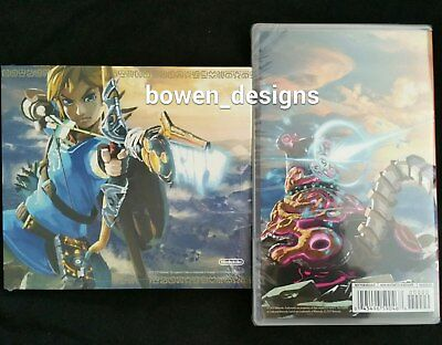 Legend Zelda BREATH OF THE WILD and Soundtrack CD Nintendo Switch Master Edition