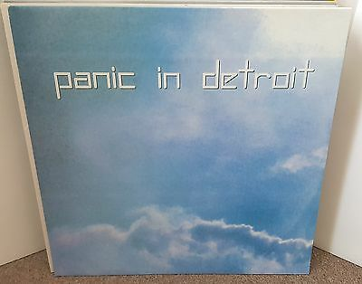 V/a / Panic In Detroit Lp 2004 Rp Buzz Records Techno/deep House Unplayed Vinyl