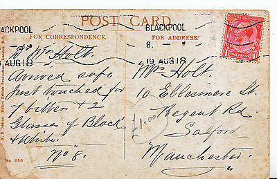 Genealogy Postcard - Family History - Holt - Salford - Manchester  A1661