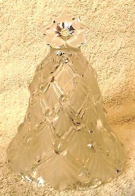"Vintage Bells--""winter Dreams"" Crystal Bell--5 1/2"" Tall--Very Nice-Great Patina"