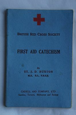First Aid Catechism - The British Red Cross Society 1932 - Excellent Condition