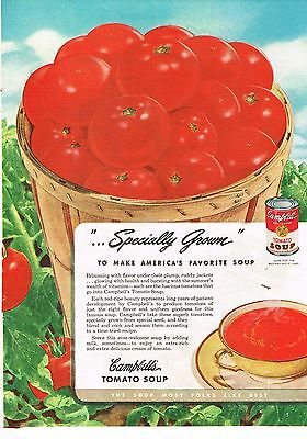 1946 OLD MAGAZINE PRINT AD,Campbell's Soup