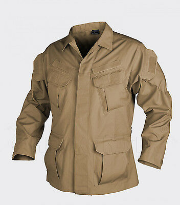 HELIKON TEX SFU Special Forces Tactical Combat Outdoor Jacke Jacket Coyote