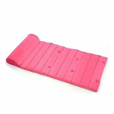 My First Premium Memory Foam Nap Mat with Built-In Removable Pillow, Pink