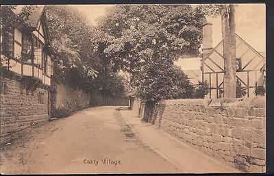 Cheshire Postcard - Caldy Village  RS1681