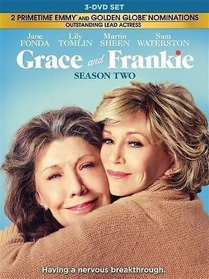 GRACE AND FRANKIE: TV SERIES COMPLETE SEASON 2 TWO New Sealed 3 DVD Set