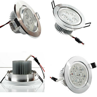 3W/5W/7W LED Ceiling Down Light Cabinet Recessed Fixture Spot Lamp Kits+Driver