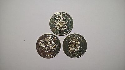 Pirate Doubloon Treasure Coins Replica Metal 1857 New Loot