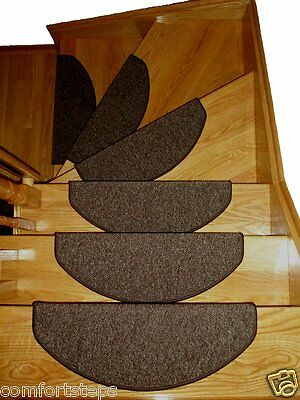 Set of 15 Beautiful Carpet Stair Mats Stair Treads made in Europe