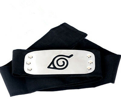 Anime Naruto Uzumaki Headband Cosplay Ninja Head Wear
