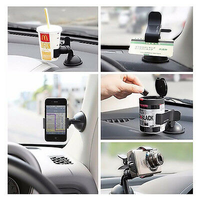 Auto Car Accessories Universal 360° Rotating Phone Windshield Mount GPS Holder