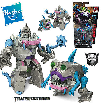 Transformers Titans Return Sharkticon Gnaw Autobots Legends Action Figures Toy