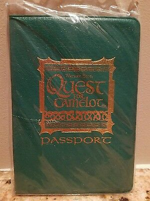 BRAND NEW 1998 Warner Brothers Quest for Camelot Passport In sealed orig.package