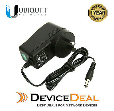 Ubiquiti Networks 12V DC 1000mA AC Adapter