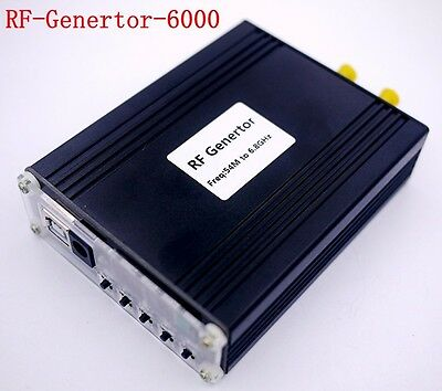 NEW ADF5355 54M-6.8GHz  loed RF Source Generator Frequency Source moudle
