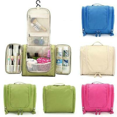 989911b11051 New Travel Toiletry Wash Cosmetic Bag Makeup Storage Case Hanging Grooming  Hot Q