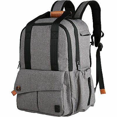 Ferlin Multi-function Baby Diaper Nappy Bags Backpack with Changing Pad, Fashion