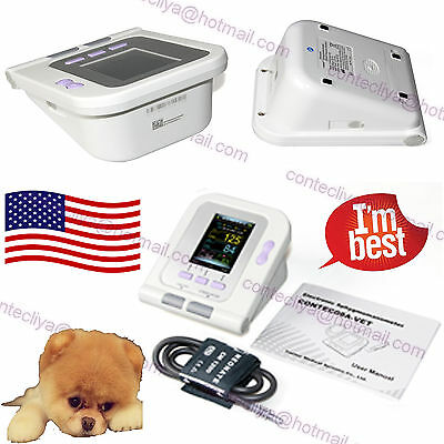 US SELLER CONTEC08A-VET Veterinary Digital Blood Pressure Monitor, NIBP Cuff,FDA