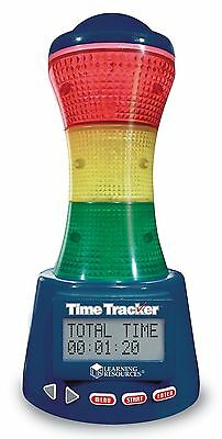 Learning Resources LER6900 Time Tracker Visual Timer And Clock