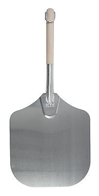 Pizzacraft PC0202 Aluminum Pizza Peel with Hardwood Handle 25.75-Inch x 12-Inch