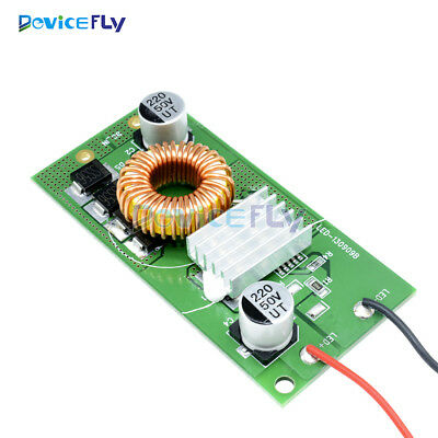 10W 20W 30W 50W Constant Current LED Driver For High Power DC 9-24V to DC 30-38V