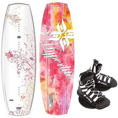 HYPERLITE EDEN Kinder Wakeboard 125cm Junior Wakeboard-Set Bindung