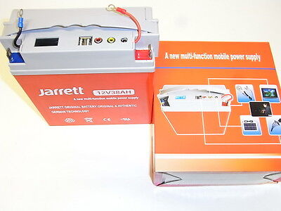 NEW POWER BANK/BATTERIA/BOOSTER/JUMP STARTER 12V 38000 mAh POLIVALENTE
