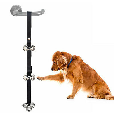 Adjustable Pet Dog Potty Training Door Bells Nylon Housetraining Housebreaking