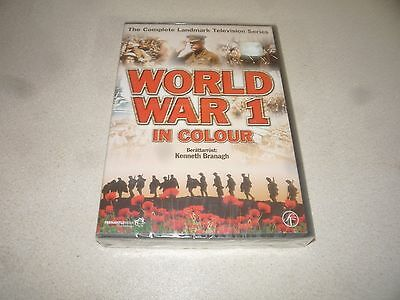 World War 1 In Colour : Dvd Box  2 Disc Set (2003) Brand New And Sealed