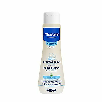 Mustela Bebe Gentle shampoo 200ml Protect & hydrate dry scalps with natural oils