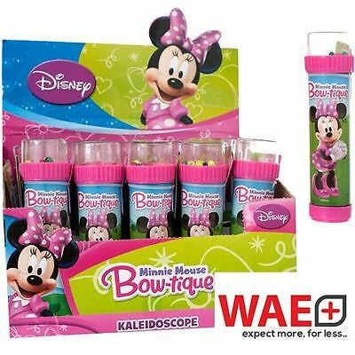 Minnie Mouse Bow Kaleidoscope Stocking Filler Party Bag Gift Kids Children Toy