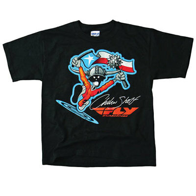 Fly Racing T-Shirt Andrew Short schwarz