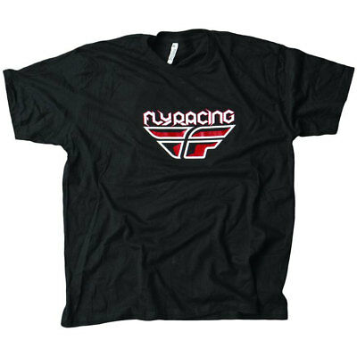 Fly Racing T-Shirt F-Wing schwarz