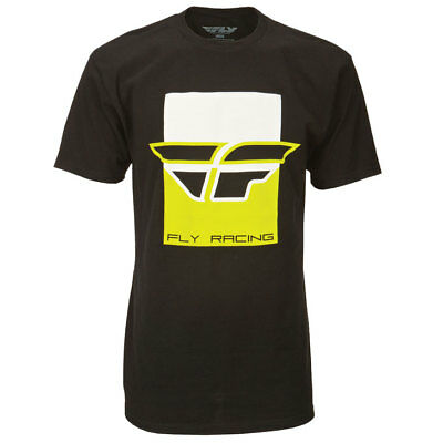 Fly Racing T-Shirt Color Block schwarz