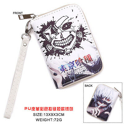 HOt Anime Tokyo Ghoul Cosplay PU Leather Purse Wallet B