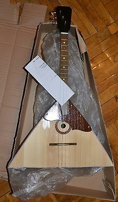 New Original Classic Russian Balalaika Three 3 Strings Prima (made in Ukraine)