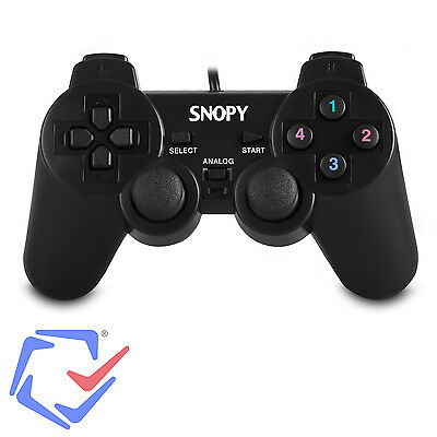Gamepad Controller USB Kabel PC Computer Game Vibration Pad Joy Plug Play SG-401