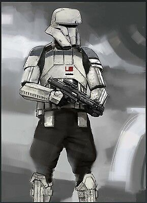Topps Star Wars - Rogue One Concept Art Series - Tank Trooper - Digital Card