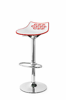 Calligaris Connubia Design Bar Stool JAM 1476 Height Adjustable And  Rotatable