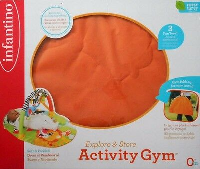infantino Explore & Store Activity Gym - Zebra/Lion